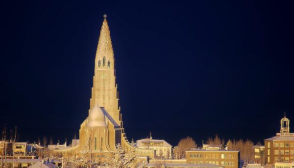 Guðjón Samúelsson, Hallgrímskirkja, The Church of Hallgrímur, Church of Iceland, Reykjavík, Iceland, Hallgrímur Pétursson