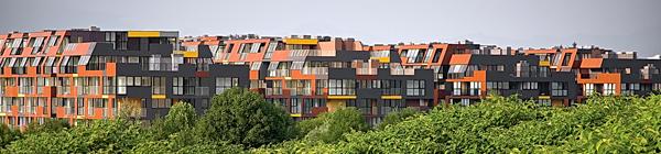 Ofis arhitekti 650 apartments Ljubljana