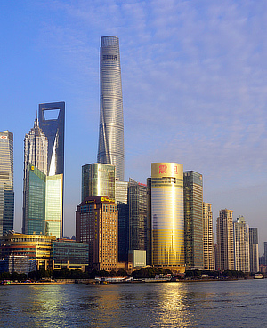 Shanghai Tower, Gensler, Daniel W. Winey, Pudong, China