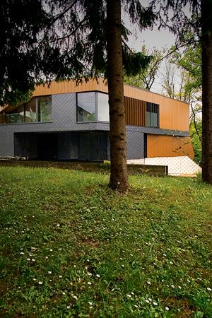 OFIS Arhitekti Villa Old Oaks Ljubljana