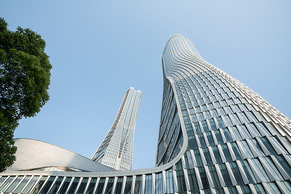 UNStudio, Ben van Berkel, Raffles City, Hangzhou, China