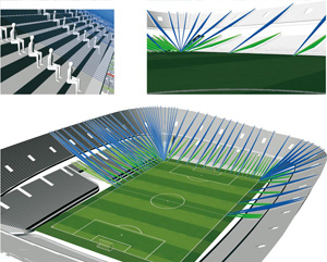 UNStudio Dalian Football Stadium