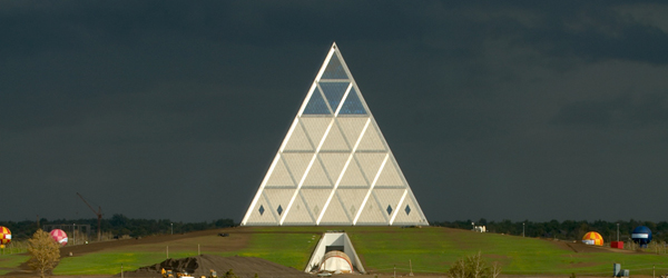 Palace of Peace and Reconciliation Pyramid of Peace Foster + Partners