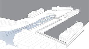 C.F. Møller Architects, Mads Mandrup, Ferry Terminal, Värtaterminalen, Stockholm, Sweden, Nivå Landskapsarkitekter