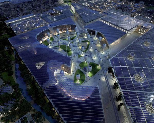 Masdar City Foster + Partners