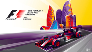 2016 Formula 1 Grand Prix of Europe, Baku, Azerbaijan