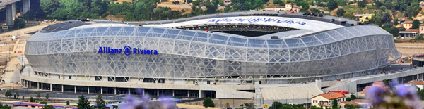 Nice Eco Stadium Allianz Riviera Jean-Michel Wilmotte