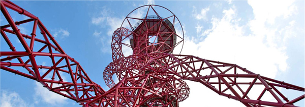 Cecil Balmond Anish Kapoor ArcelorMittal Orbit London Olympic Games 2012