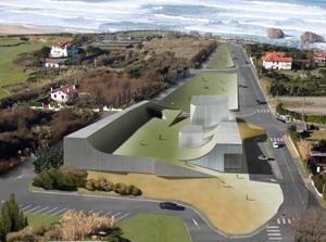 Steven Holl Biarritz Cité de l'Océan et du Surf