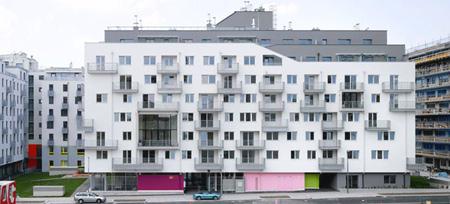 synn architecten Junges wohnen am Nordbahnhof  Vienna