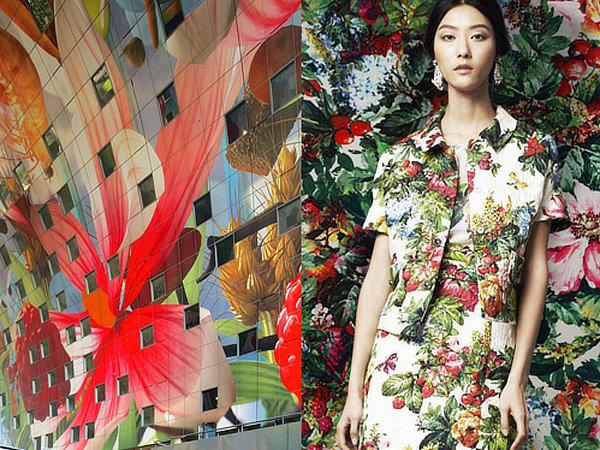 #DGEVOLUTION, MVRDV, Dolce & Gabbana, Markthal Rotterdam