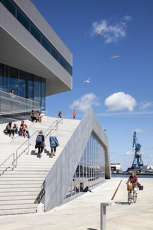 schmidt hammer lassen, DOKK1, Urban Mediaspace, Århus, Denmark