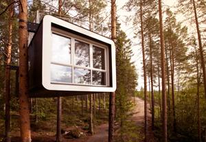 Maarten Cyrén Gustav Cyrén Treehotel The Cabin