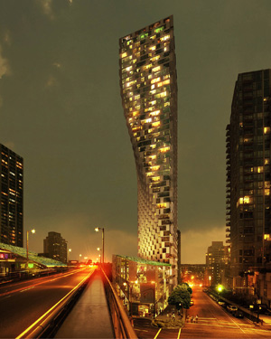 BIG Bjarke Ingels Beach and Howe tower Vancouver