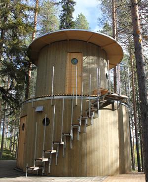 Inredingsgruppen Bertil Harstrom Treehotel The Treesauna