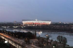 gmp von Gerkan Marg und Partner Warsaw National Stadium Poland