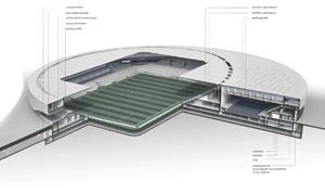 gmp von Gerkan Marg und Partner Sports Complex Lausanne