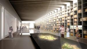 Norman Foster, Foster + Partners, MuRéNA - Musée de la Romanitée, Narbonne, France