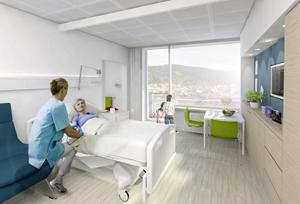 C.F. Moller Haraldsplass Hospital Bergen Norway