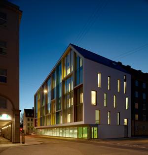 C.F. Møller Sølvgades School Copenhagen