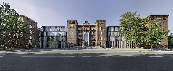 gmp, von Gerkan Marg und Partner, Technische Universität Hamburg Harburg, Hamburg, Germany
