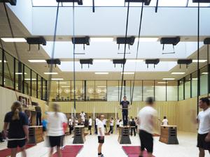 Mecanoo Fontys Sports College Eindhoven