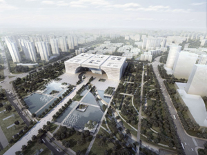 Changzhou Culture Center Changzhou China gmp von Gerkan Marg und Partner