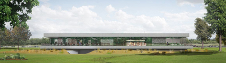 Mecanoo International Golf  Clubhouse Schiphol Amsterdam