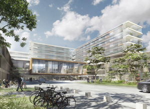 Schmidt Hammer Lassen New Aalborg University Hospital  Northern Jutland Denmark