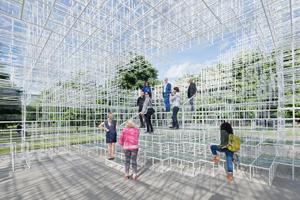 Sou Fujimoto, Serpentine Gallery Pavilion 2013, London