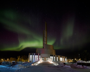 schmidt hammer lassen Cathedral of the Northern Lights Alta
