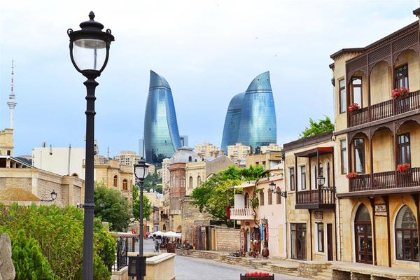 HOK, Hellmuth Obata Kassabaum, Flame Towers, Baku, Azerbaijan, Balkar Mühendislik