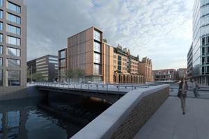 gmp von Gerkan Marg und Partner Heinemann Hamburg