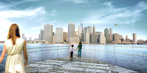 BIG Bjarke Ingels Brooklyn Bridge Park Pier 6