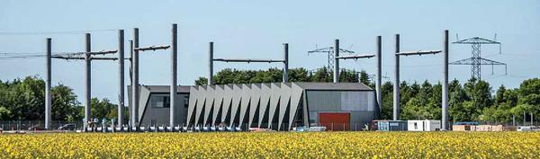 C.F. Møller GIS Station Energinet.dk