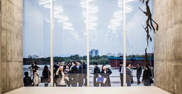 schmidt hammer lassen Shanghai West Bund Biennial