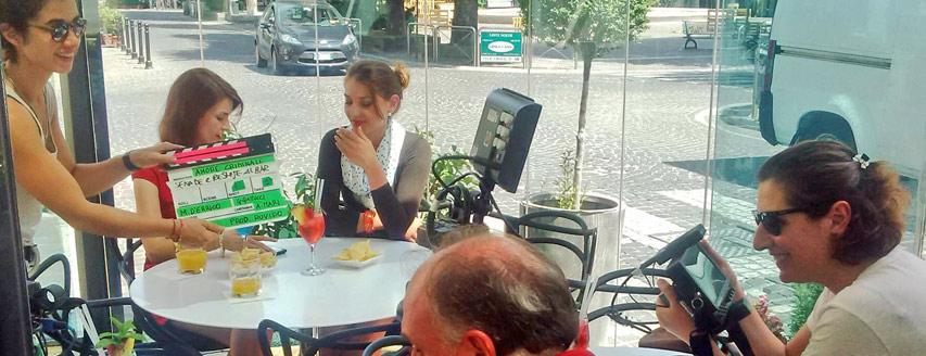 Monostudio, Nicoletta Novelli, Bar Pasticceria Olimpia, Avezzano, Hors'Ò, Dehors