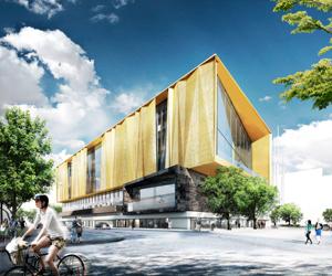 schmidt hammer lassen, New Central Library, Christchurch, New Zeland