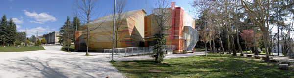 Renzo Piano Auditorium del Parco L'Aquila