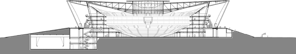 Basketball stadium Dongguan gmp von Gerkan Marg und Partner
