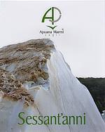 Apuana Marmi Vagli, Sessant'anni, Nicoletta Novelli, Monostudio, Landmark del marmo