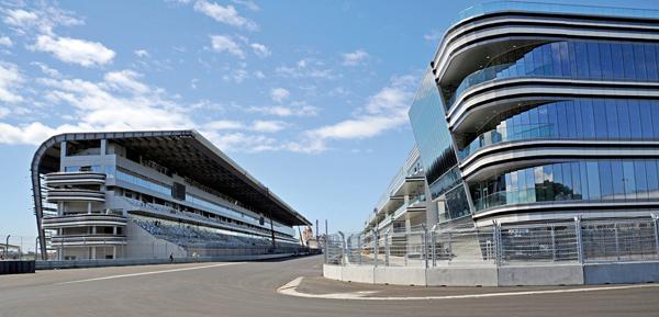 Sochi Autodrom Russia Hermann Tilke