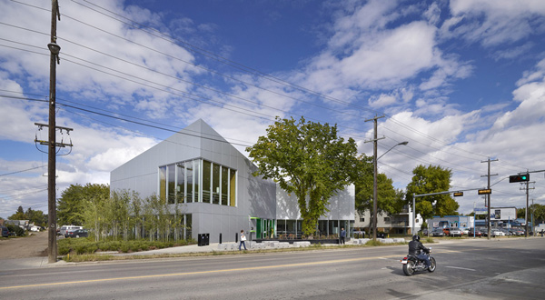 schmidt hammer lassen architects Highlands Branch Library Edmonton Alberta Canada