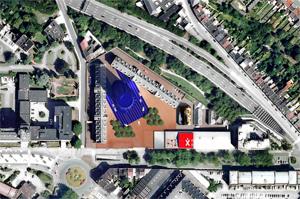 Jean Nouvel MDW Hôtel de Police Extension de Charleroi Danses