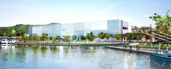 Foster + Partners National Museum of Marine Sciences Keelung Taiwan