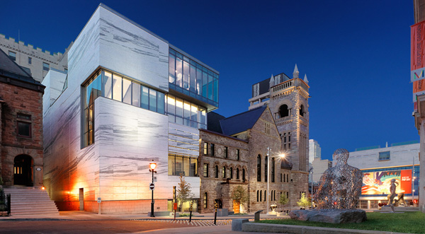Provencer Roy Claire and Marc Bourgie Pavilion of Quebec and Canadian art Montreal