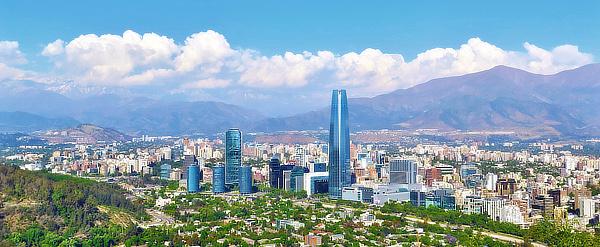 Pelli Clarke Pelli, Alemparte Barreda Wedeles Besançon, Gran Torre Santiago, Torre Costanera, Providencia, Santiago, Chile