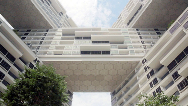 The Interlace, OMA Office for Metropolitan Architecture, Büro Ole Scheeren, Singapore