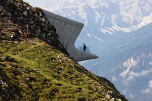 Zaha Hadid, MMM Messner Mountain Museum, Plan de Corones, Kronplatz