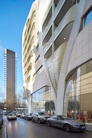 Ben van Berkel, UNStudio, Jaspers-Eyers Architects, Le Toison d'Or, Brussels, Bruxelles